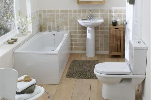 Совет по оформлению ванной комнаты
