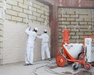 Механизированная штукатурка стен и её ключевые особенности